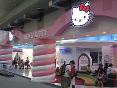 Hello Kitty Airport Gate! - I suddenly feel the need to fly to Taiwan.