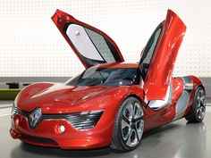 Hot Cars From the Paris Motor Show Dezir concept car from Renault