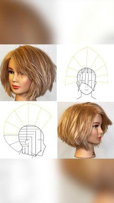 Medium Hair Cuts, Short Hair Cuts, Medium Hair Styles, Short Hair Styles, Layered Haircuts For Women, Stylish Short Haircuts, Marilyn Monroe Haircut, Hair Cutting Techniques, Hair Patterns