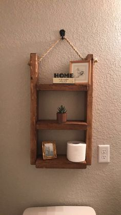 Hanging Bathroom Shelves Prepossessing How To Make A Hanging Bathroom Shelf For Only $10  Shelves Walls Review