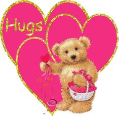 - More Teddy Bear Comments Cute Bears . Hugs And Kisses Quotes, Hug Quotes, Hug Day Pictures, Love Pictures, Teddy Bear Quotes, Hug Images, Bear Gif, Hug Gif, Joy And Sadness