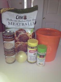 Stlavonlady - Scatterbrained In St. Louis: Recipe Thursday - Crockpot Swedish Meatballs