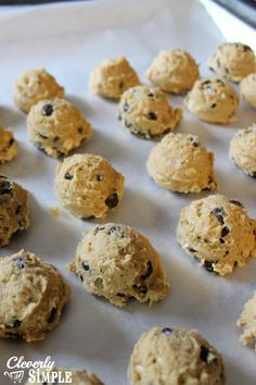 how to freezer cookie dough to make chocolate chip coookies