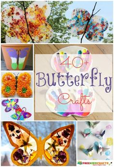 40 Butterflies for Kids to Make