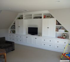 Awesome Playroom Storage