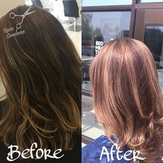 Luscious highlight lowlight today! Need a haircut or color? Text me to set up an appointment :) 2082836142 #208 #idahome #boise #gaystylist #lgbtq #lgbt #ryangoodmanstylist #toniguyportico #toniguyboise #toniguyusa #americansalon #peekaboo #love #summer #follow #hairisonpoint