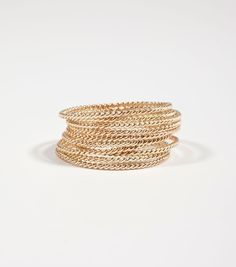 Catbird :: shop by category :: JEWELRY :: Rings :: Twisted Stacker Ring