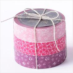 Japanese Masking Tape-Washi Tape-Coffret du Couturier-3 roll set-RED. $8.50, via Etsy.