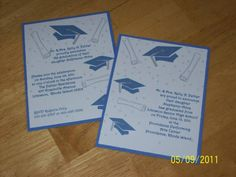 Graduation by CardLadyToo - Cards and Paper Crafts at Splitcoaststampers