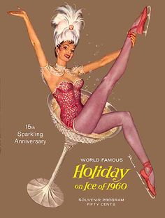 """Holiday on Ice of 1960 Souvenir Program by Ruskin """"Russ"""" Williams                                                                                                                                                      More"""
