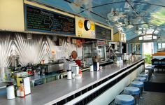 The Liberty Elm Diner in Providence. Local food at great prices.