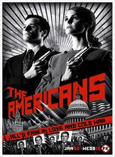 The Americans (2013) - Matthew Rhys, Keri Russell, Noah Emmerich