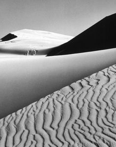 Ansel Adams--I love the texture and geometry of this one.