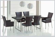 1000 images about modern dining table furniture designs on pinterest modern dining table for Interiors modern home furniture woodbridge va