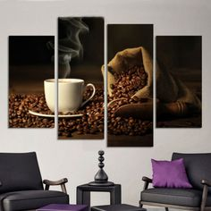 Top Selling Modern Still Life Triptych Oil Paintings on Canvas Unframd Room Wall Pictures for Bedroom