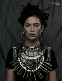 Futuristic Warrior Fashion : Morfium Couture