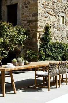 #Garden #Table #Chairs #Tribù