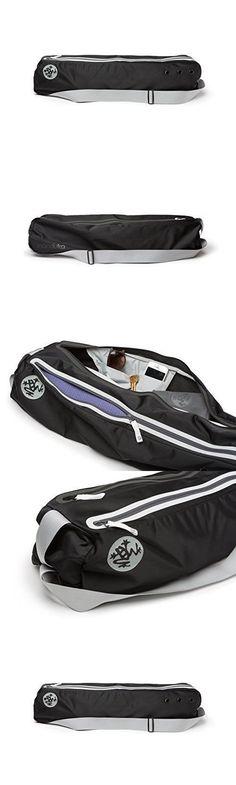 Manduka Go Steady Yoga Mat Bag, Black #yogamats