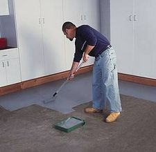 How to Finish Concrete Floors; for the basement