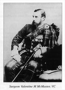 Surgeon V McMaster VC 78th Highlanders 25th September 1857 Indian Mutiny