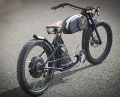 Otoc, the electric bike with a vintage look that goes well - WoDesign E Bicycle, Retro Bicycle, Cruiser Bicycle, Motorized Bicycle, Velo Retro, Velo Vintage, Look Vintage, Vintage Bikes, Best Electric Bikes
