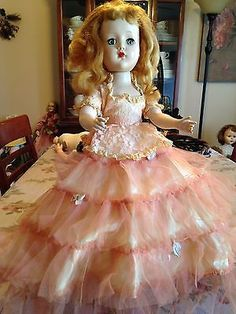 1950's Arranbee (R&B) 18 in. Nancy Lee / Nanette, Hard Plastic Walker Girl Doll
