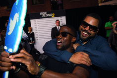 Kevin Hart and Ice Cube talk Ride Along 2