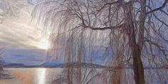 Baum im Winter (b) Painting, Winter Trees, Tree Structure, Painting Art, Paintings, Painted Canvas, Drawings