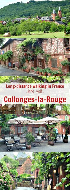 The second day of walking from Martel to Rocamadour is a short one - only 6 kms from Turenne to the 'most beautiful village' of Collonges-la-Rouge. You'll arrive in time for lunch, with oodles of time to explore.Learn more - where to stay, what to see plus practical tips for planning the perfect itinerary!  #walkingholidaysinfrance