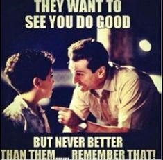 Never better..