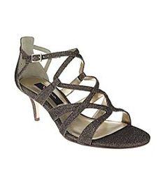 04d45ea6a158 Nina Claresa Up the Front Evening Sandals Shoes - Macy s