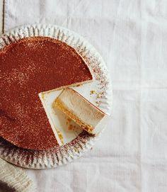 Lighter-banana-cheesecake