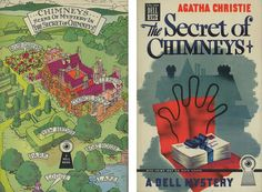 Dell Books 199 - Agatha Christie - The Secret of Chimneys (with mapback)