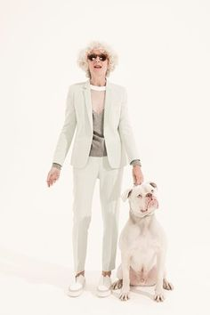 The best women's suits for all ages – in pictures Share on Pinterest Share on Google+ Shares 12 Suits for men may be on their way out in the City, but they have become a bona fide look for women. And there are plenty of cool ways to wear them...