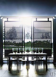 Modern Dining Room by Anouska Hempel in Salzburg, Austria