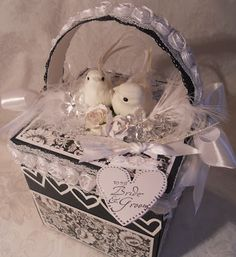 ScrapbookFashionista Designs by Rina: Magnolia Tilda Wedding Explosion Box Album