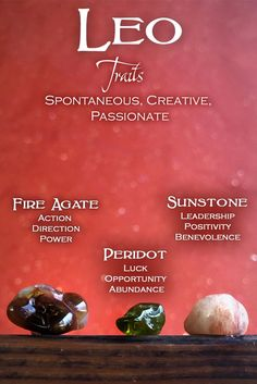 Leos, you're all GEMS 💎💎💎 Work with these crystals to activate your solar power. The Sun is your planet! Be the charismatic, creative, passionate animal you are, and learn more about YOU in astrology on our website. Minerals And Gemstones, Crystals Minerals, Rocks And Minerals, Crystal Healing Stones, Stones And Crystals, Crystal Magic, What Is Astrology, Wicca, Reiki