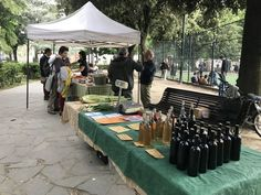 """""""Mercato di Piazza Tasso"""" is a weekly 'genuine clandestine' meeting of farmers & artisans in Florence. Pass through for groceries, stay for aperitivo. Farmers Market, Tuscany, Body Care, Florence, Artisan, Herbs, Tuscany Italy, Craftsman, Herb"""