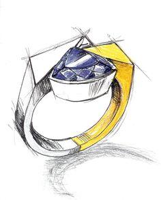 rings drawing