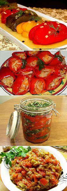 рецепты заготовок из перца вкусные и простые