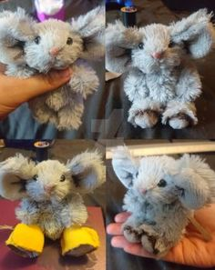Cedric the Mouse by SewManyTeddies