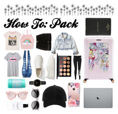 """""""How To: Pack"""" by howto-style ❤ liked on Polyvore featuring Gucci, WithChic, Gap, River Island, MAC Cosmetics, Hollister Co., NIKE, tarte, ROSEFIELD and Ted Baker"""