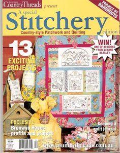 Country Threads Stitchery 5-2 - Lita Z - Álbuns da web do Picasa...FREE BOOK!!