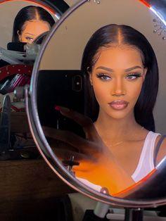 Cute Makeup, Glam Makeup, Beauty Makeup, Makeup Looks, Hair Makeup, Hair Beauty, Makeup Eyes, Black Girl Makeup, Girls Makeup