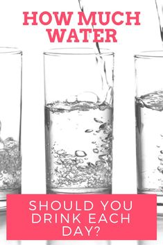 Have you heard that you should drink 8 glasses of water per day but wondered if that was the right amount for you? You definitely aren't alone. But did you know that this  Rule of Thumb that we all strive to reach isn't actually based on any scientific finding? #healthymom #fitmom #healthandfitness #momhacks #healthandwellness #healthandnutrition #nutrition #healthymeals #healthymealplan #healthylife #fitnessfood #healthyeating