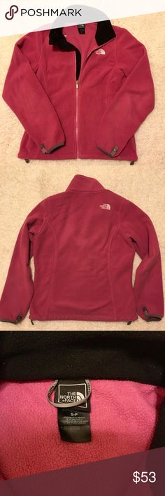 North Face Fleece Jacket Warm and comfortable fleece jacket. Previously loved, good condition. Smoke free home North Face Jackets & Coats