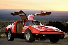 The Bricklin SV-1 was a gull-wing door sports car assembled in Saint John, New Brunswick, Canada. The body panels were manufactured in a separate plant in Minto, New Brunswick. Manufactured from 1974 until early 1976 for the U.S. market, the car was the creation of Malcolm Bricklin, an American millionaire who had previously founded Subaru of America. The car was designed by Herb Grasse.