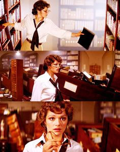 Rachel Weisz. Perhaps the most beautiful (and funny) librarian ever. (Scene from The Mummy)