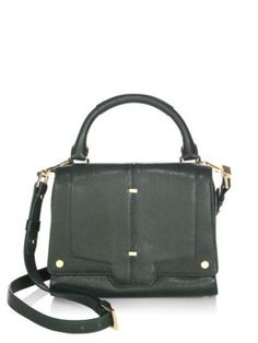 2fd7f45c2727 LUANA ITALY Vreeland Mini Leather Satchel.  luanaitaly  bags  shoulder bags   hand bags  leather  satchel