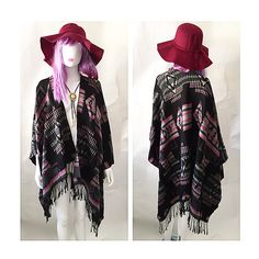 This TRIBAL PONCHO is just to die for!  Excellent piece to have to make a statement  Our floppy hats are available as well as our BOLO TIE  Come get your FESTIVAL WEAR here at OPIUM  For APPOINTMENTS, PRICES or INFO pls thru TEXT ONLY 787.605.3404 11-8pm WE SHIP WORLDWIDE  #shoplocal #ootd #fashion #sanjuan #calleloiza #puertorico #compralocal #festival #trend #trendy #spring #summer #sexy #LOOKBOOK  #style #governorsball #coachella #coachella2015 #lollapalooza #boho #bohochic  #musthave…